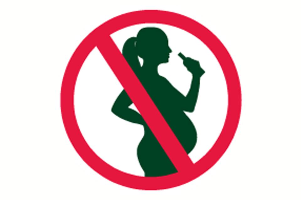 No alcohol during pregnacies