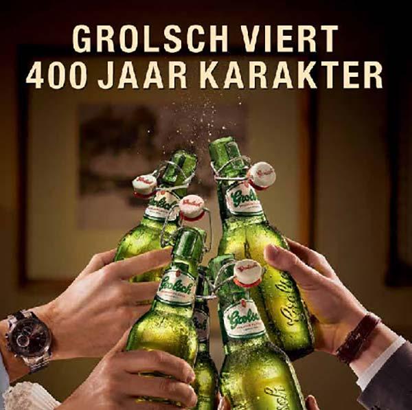 Grolsch's 400th anniversary