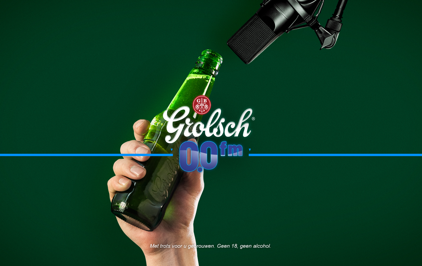 Grolsch and Talpa Network launch Grolsch 0.0 FM