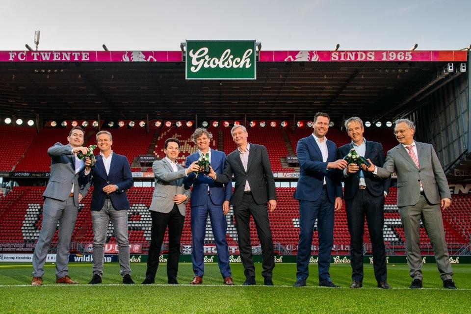 Grolsch blijft sponsor van FC Twente