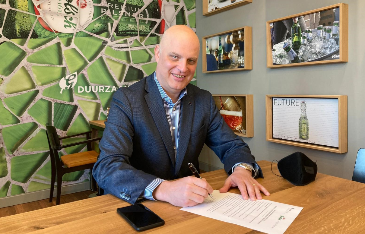 Andrei Haret signs LEAD pledge for diversity and inclusivity