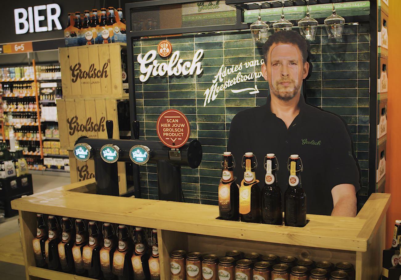 Grolsch puts Master Brewer in the supermarket