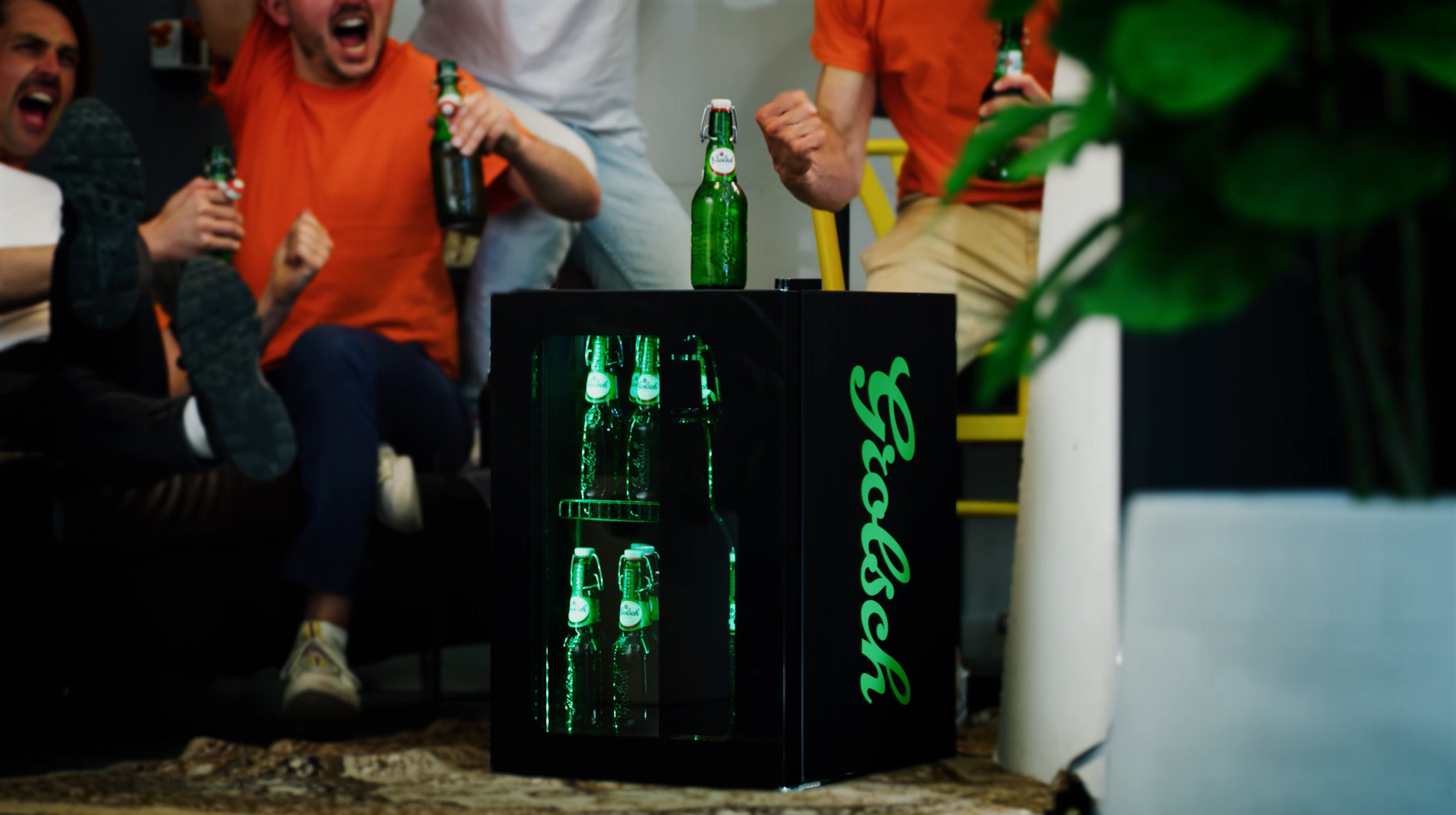 Grolsch provides cold beer within reach during European Football Championship