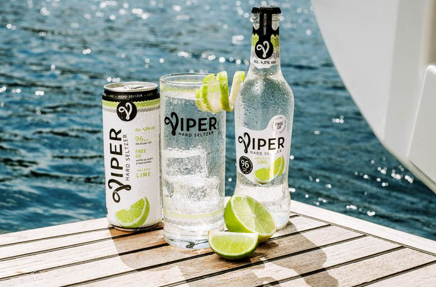 Asahi introduces Viper: the new hard seltzer in bottle and cans
