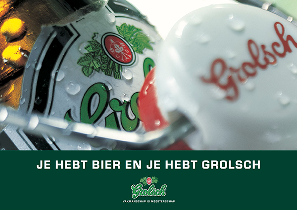 There's beer and there's Grolsch
