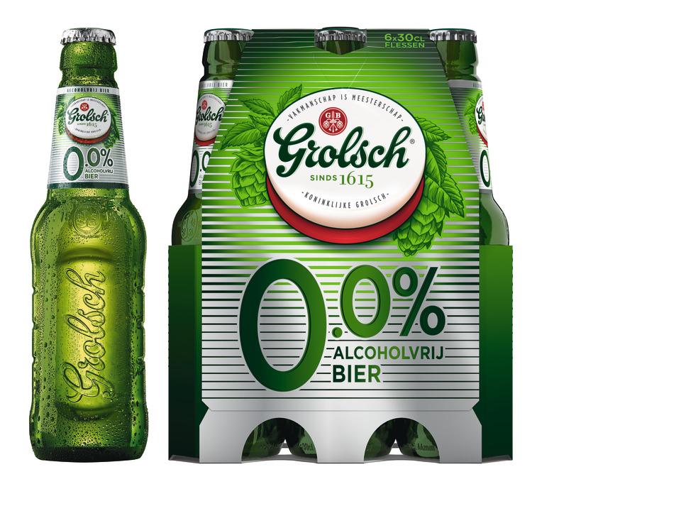 Grolsch 0.0 Verpakking