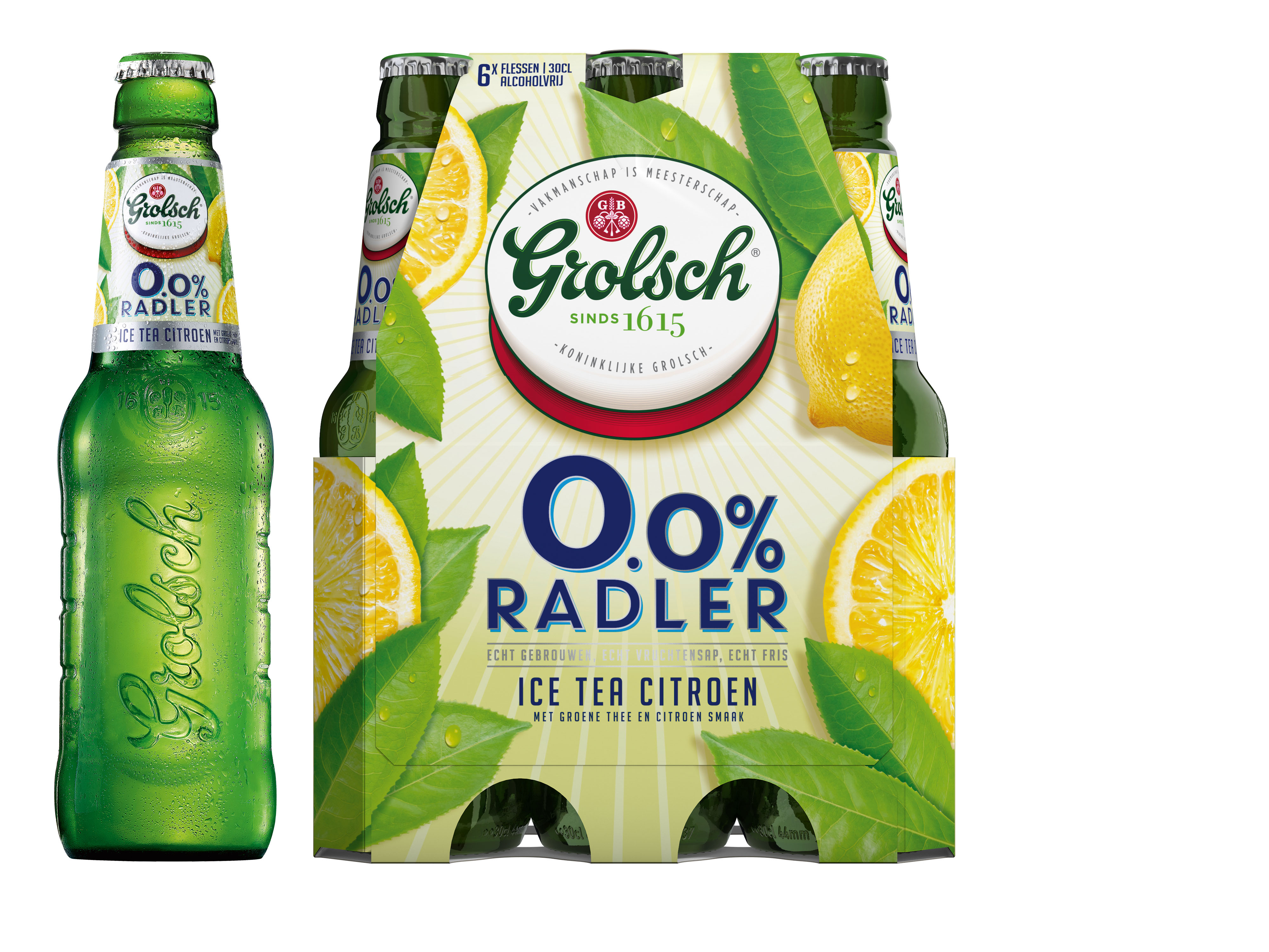 0.0% Radler Ice Tea Citroen